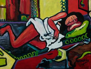 Canales, Norberto, Cuba, Schlafende Venus