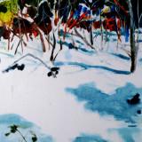 Sonnige Schneelandschaft Rita Geißler