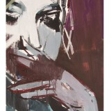 Weronika Raczynska ELIZABETH acrylic on cardboard 70x50 cm
